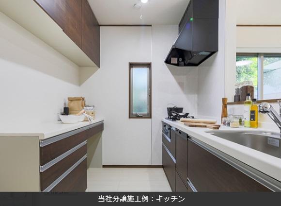 施工例 システムキッチン・カップボード