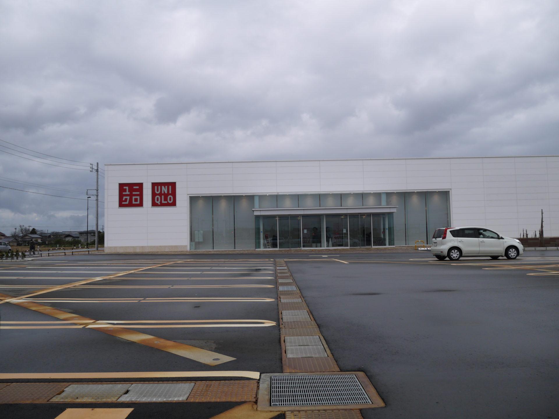 ユニクロ新発田店