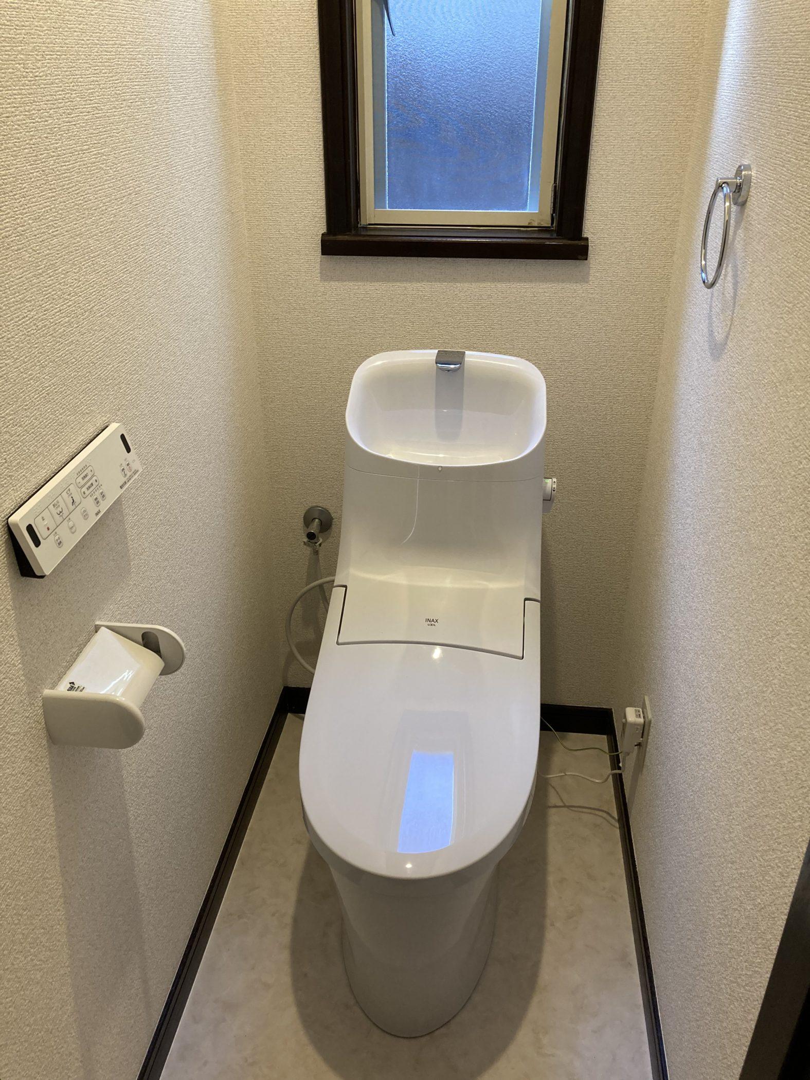 リフォーム済トイレ